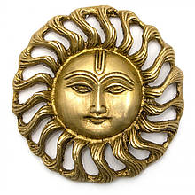 Бронзовая декоративная фигурка Солнце