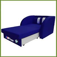 """Раскладное кресло кровать """"Смарт"""" БМВ синий"""