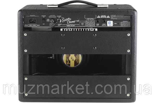 Гітарний комбопідсилювач FENDER SUPER CHAMP X2, фото 2