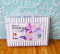 Скетч маркеры SketchMarker двусторонние для бумаги набор 36 шт | Скет Маркер | SketchMarker