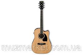 Електроакустична гітара IBANEZ PF15ECE NT