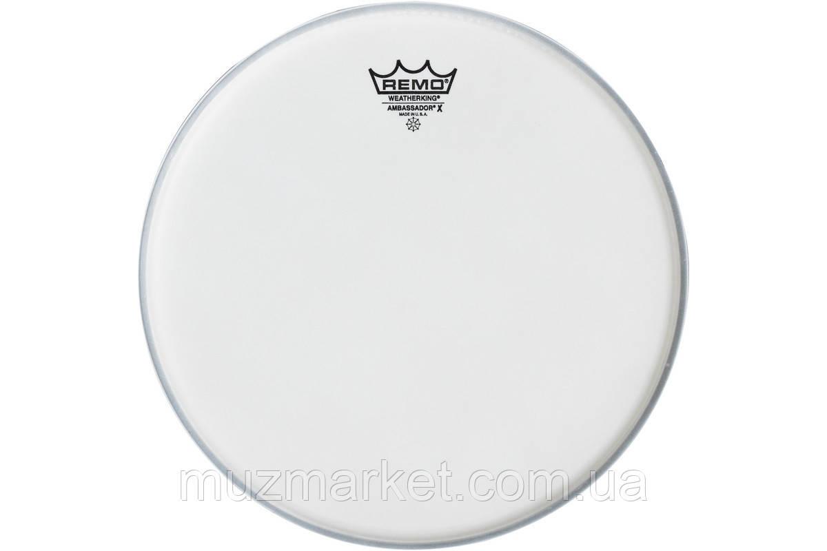 "Пластик для барабана REMO AMBASSADOR X COATED 10"""