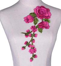 Нашивные цветы на одежду