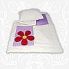 Homefort Комплект Аппликация детское одеяло+подушка 110х140 + 40х60