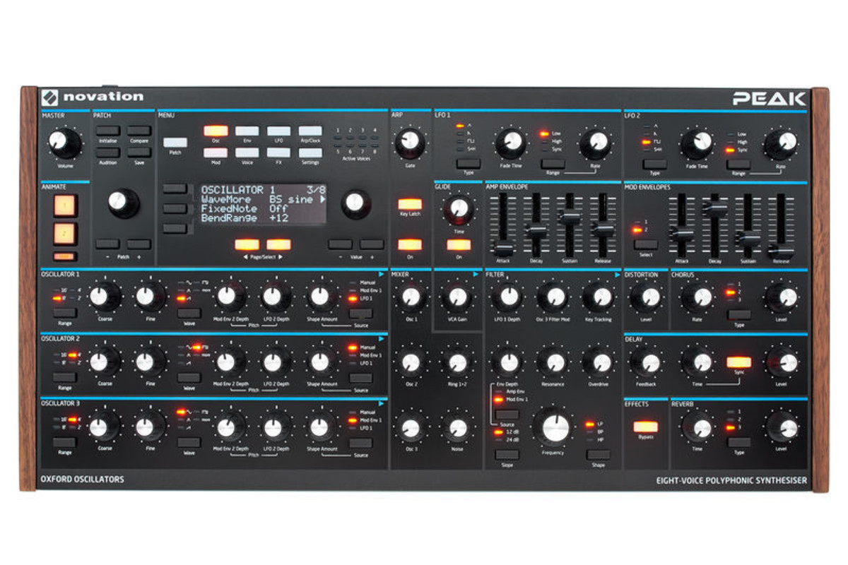 Синтезатор аналоговый NOVATION PEAK