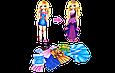 Настольная игра Одень куклу Аделину магнитная игра, фото 2