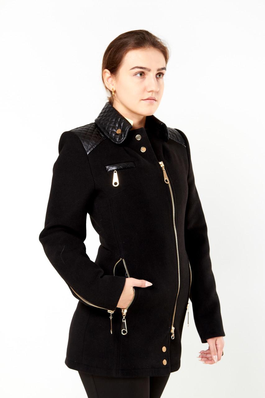 Куртка (полупальто) женская Exclusive 2017 чорный скидка