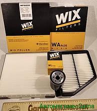 Набор для ТО Хюндай Матрикс 1.8 фильтров воздушный масляный салона WIX