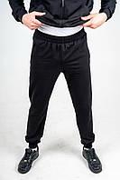 Брюки мужские 2-хнитки с карманами черные
