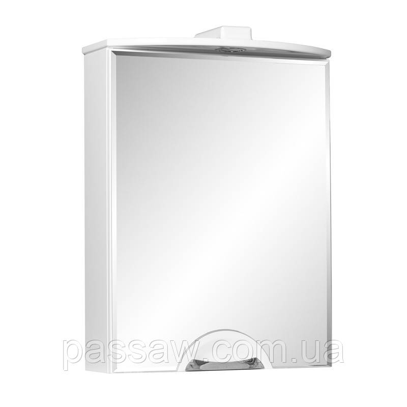 Зеркало ЛЮКС 2-G 55 белое