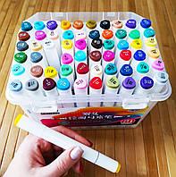 Скетч маркеры SketchMarker двусторонние для бумаги набор 60 шт | Скет Маркер | SketchMarker