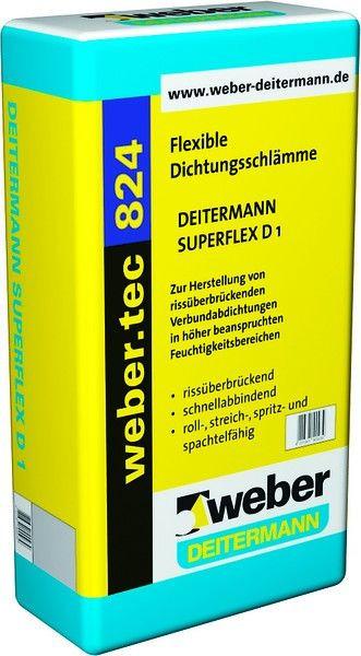 Weber.tec 824 Superflex D1  (мешок - 20 килограмм)