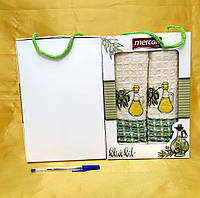Кухонные полотенца Вафельные (ТМ Nilteks)  хлопок 50*70 (2шт.) Турция