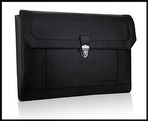Портфель шкіряний бренд BETLEWSKI з колекції CAMBRIDGE Польща колір чорний