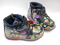 Демисесонные ботинки Y-TOP для девочки 22- 23 р., фото 1