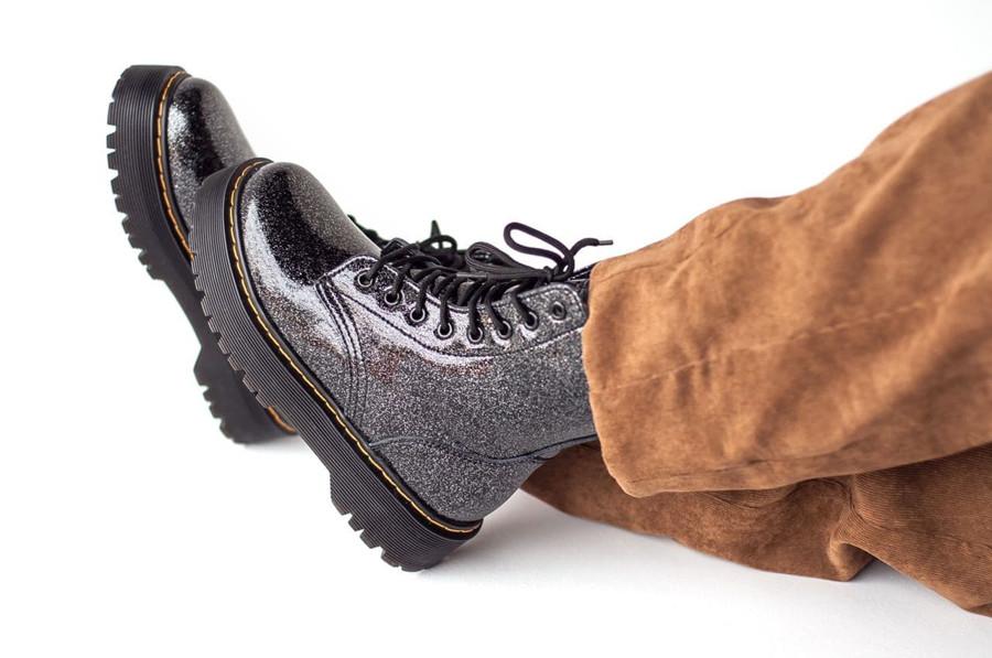 Женские ботинки Dr. Martens  Galaxy с мехом