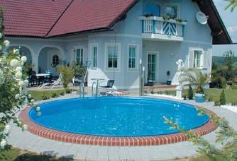 Збірний каркасний басейн Hobby Pool MILANO 3,50 х 1,5 м плівка 0.6 мм
