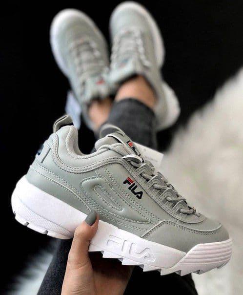 Жіночі кросівки Fila disruptor 2 grey 40 (25.5 див.)