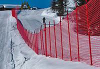 Сетка оградительная для горнолыжных трасс