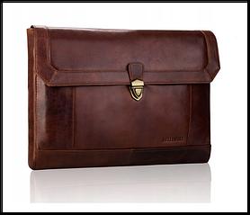 Портфель шкіряний бренд BETLEWSKI з колекції VINTAGE Польща колір коричневий