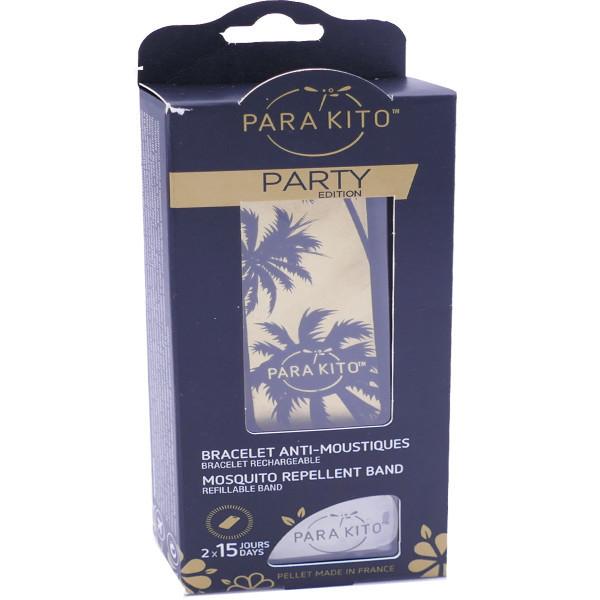 Браслет для защиты от насекомых для всей семьи Паракито Parakito Party Edition Mosquito Repellent Brand