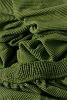 Накидка на диван №20 зеленая стильная и практичная накидка на диван, фото 4