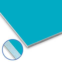 Відкосна панель ПВХ 1500х3000мм двостороння (ПВХ білий + ПВХ кольорова підложка)