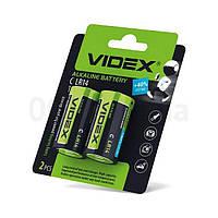 Батарейки Videx C (LR14) 2шт