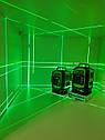 Лазерний рівень Fukuda MW94D 4GX. 《ПОВНИЙ КОМПЛЕКТ》❤OSRAM ДІОДИ❤《ТІЛЬКИ У НАС В УКРАЇНІ-бірюзовий промінь》, фото 5