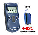 Профессиональный влагомер древесины Walcom MD-918 (4-80%) ⇒ 43 породы, фото 4