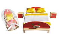 Набір для ляльок HEGA. Меблі для спальні, фото 1