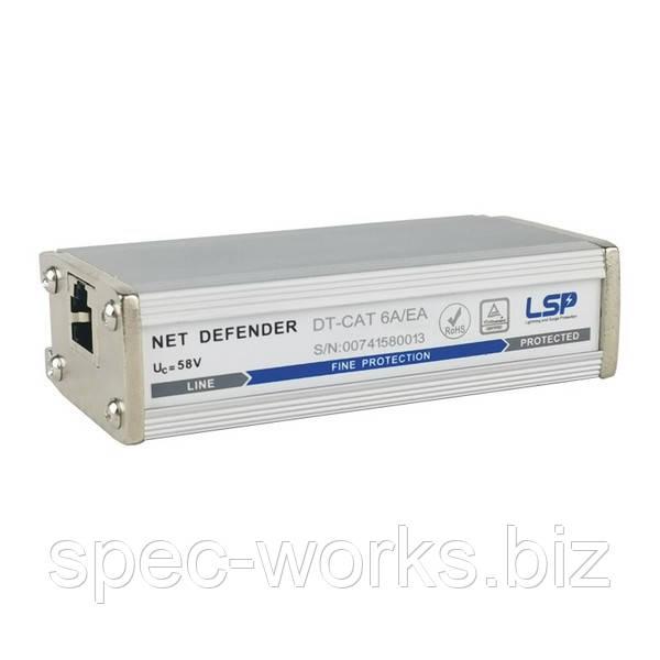 ПЗІП для POE Ethernet DT-CAT 6A/EA категория Cat. 6