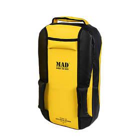 Макивара средняя 49х28х10 см С-КЛАСС желтая от MAD | born to win™