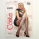 Крупный горошек колготки женские Conte Desire с узором 20 Den, фото 4