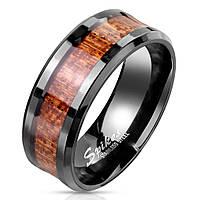 Мужское кольцо из стали Spikes R-M7519K, р. 19, 20, 20.5, 21.5, 22