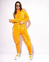 Жіночий велюровий костюм великого розміру.Розміри:46/48,50,52,54,56+Кольори, фото 1