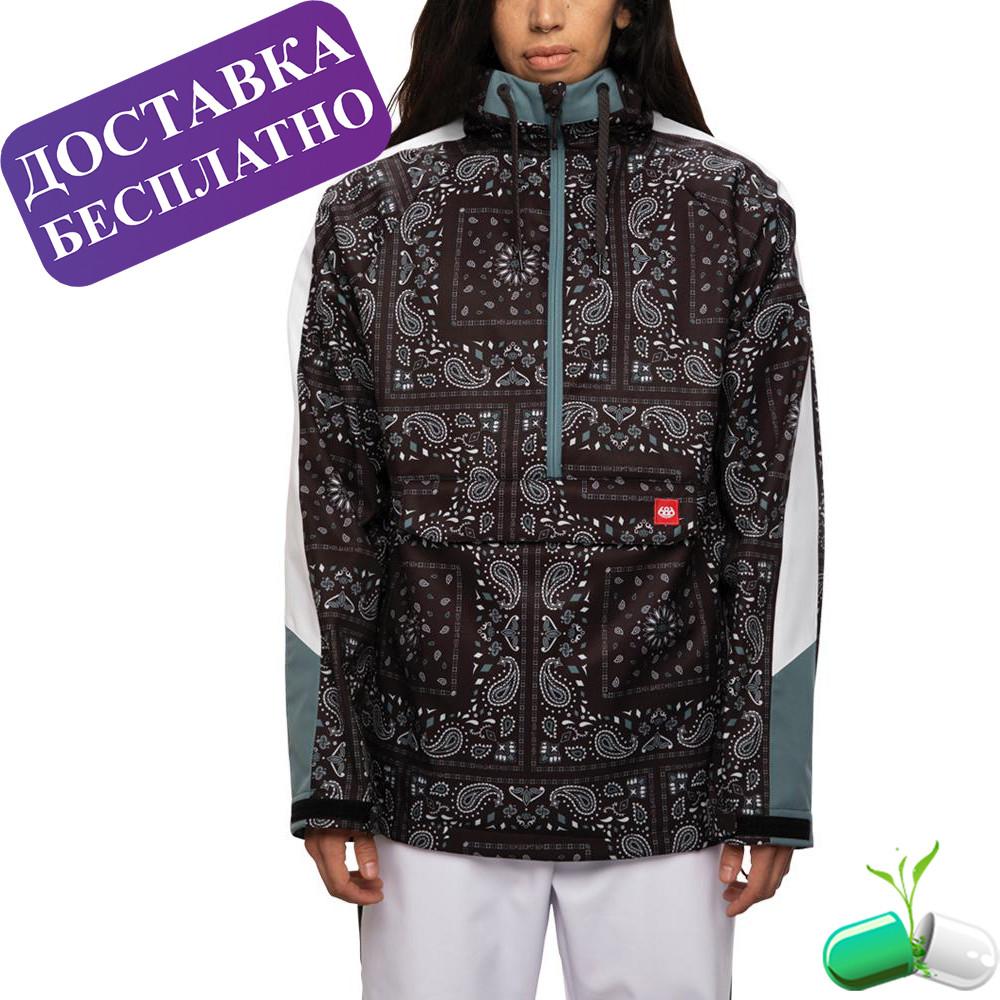 Куртка для сноуборда женска (Анорак)  Black Goblin Bandana, 686
