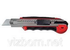 Нож выдвижное лезвие Matrix 78921 18 мм обрезиненная ручка + 5 лезвий  789219