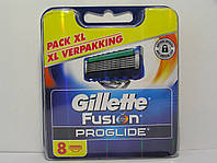 Кассеты Gillette Fusion Proglide  8 шт. (Жиллетт Фюжин проглейд оригинал) Германия