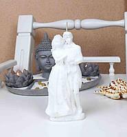 """Свеча """"Жених и Невеста"""".Цвет:Белый Высота:17см. Материал:Парафин."""