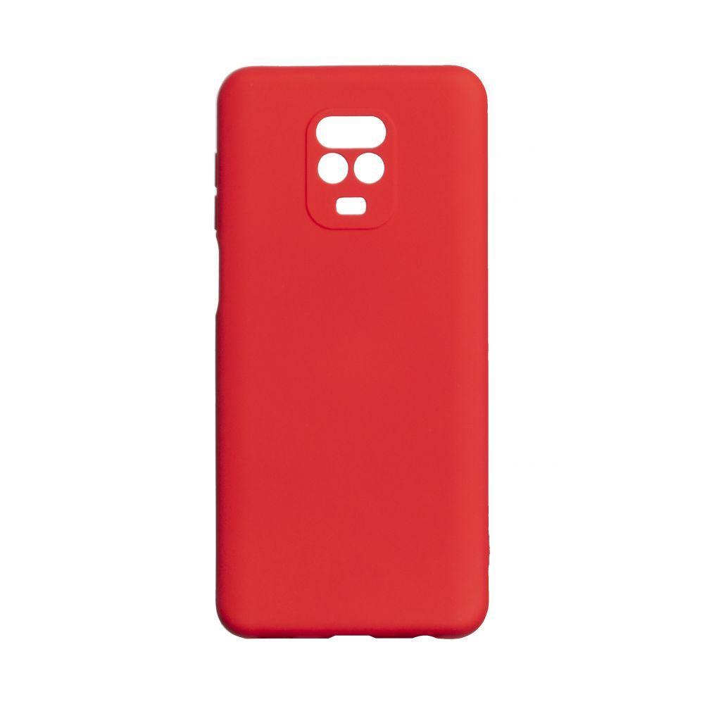 Чехол для  Xiaomi Redmi Note 9 Pro Красный / Бампер Ксяоми Сяоми Ксиоми