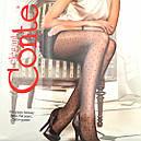 Мелкий горошек женские колготы с узором Conte Dots 20 Den, фото 4