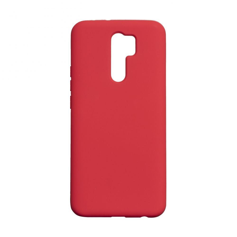 Чехол для Xiaomi Redmi 9 Красный / Чехол для Ксяоми Сяоми Ксиоми редми 9