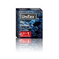Презервативи Unitex Big Dotted 48 штук (12 упаковок по 4 шт.), фото 1