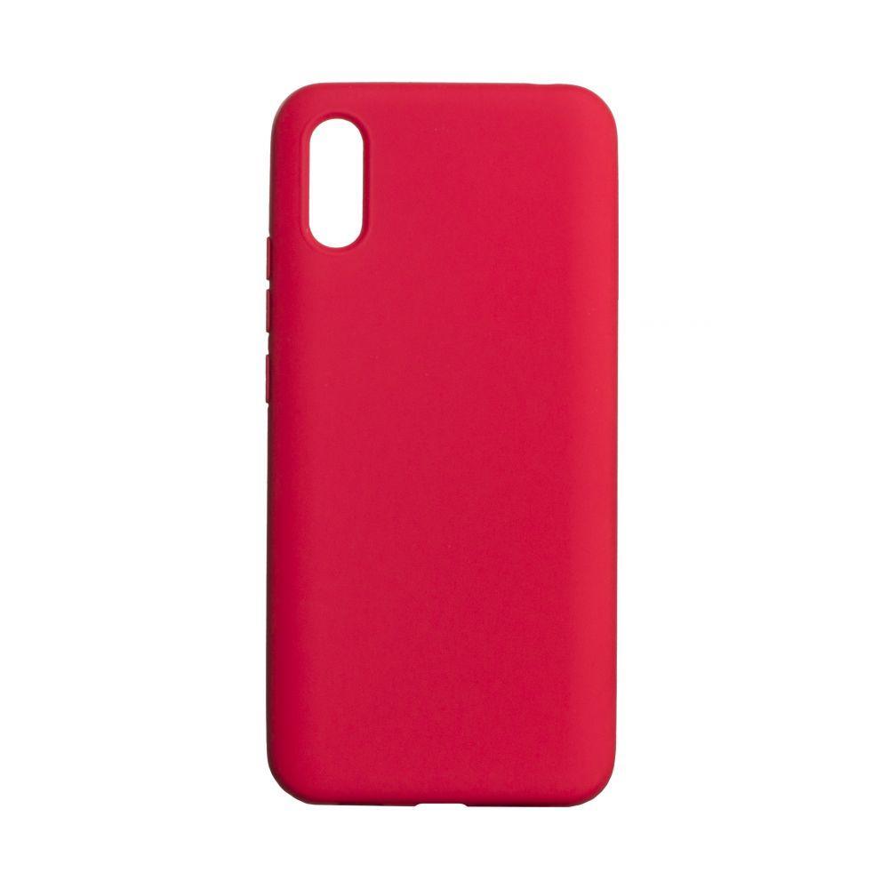 Чехол для  Xiaomi Redmi 9A Красный /  Чехол для Ксяоми Сяоми Ксиоми 9а