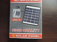 Солнечная панель, которая заряжает мобильный телефон 2W-6V,  Solar board