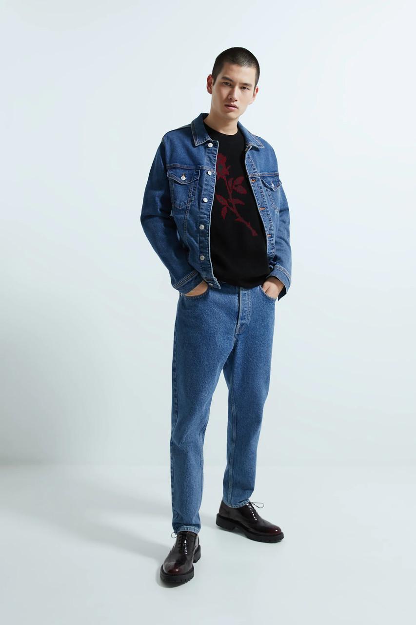 Куртка чоловіча Zara синя (4454 300 427)