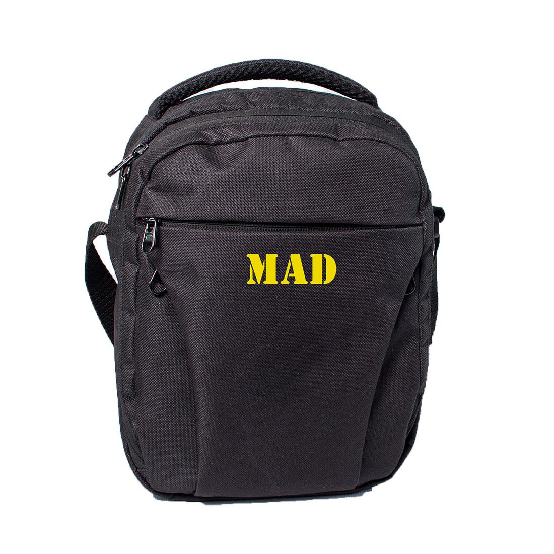 Мэссенджер Prime черно-желтый от MAD   born to win™