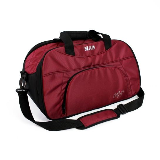 Женская спортивная сумка BLAZE бордовая от MAD | born to win™