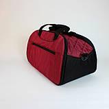 Женская спортивная сумка BLAZE бордовая от MAD | born to win™, фото 2